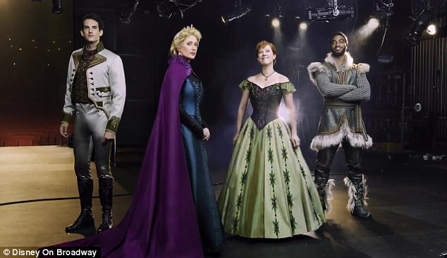 'Frozen' musical presents trailer, and sneak preview of stars in costume