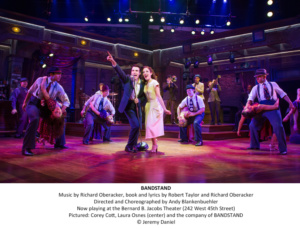Bandstand, Laura Osnes, Corey Cost
