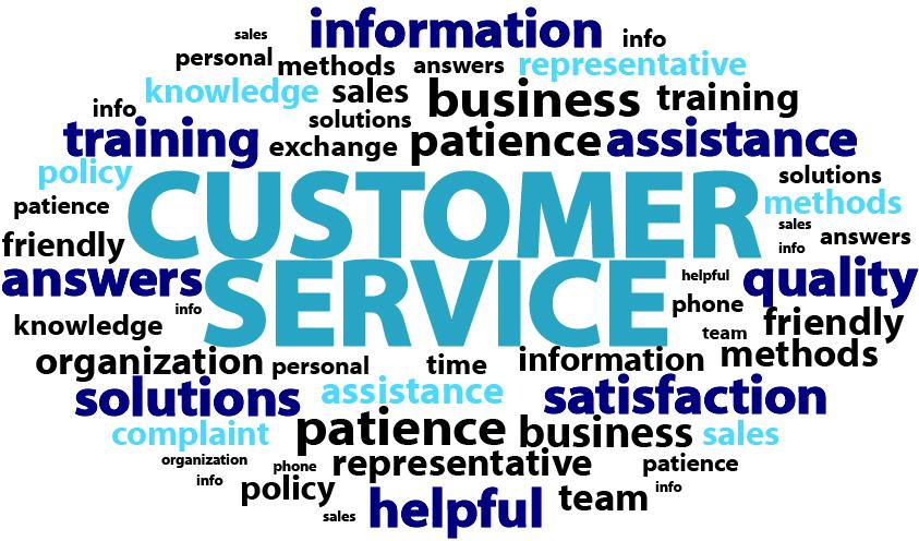 how to be a good customer service rep