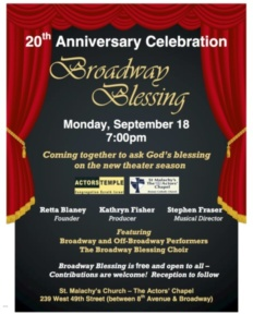 Broadway Blessing