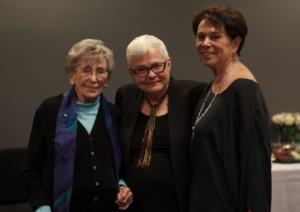 Betty Corwin, Paula Vogel, Linda Winer