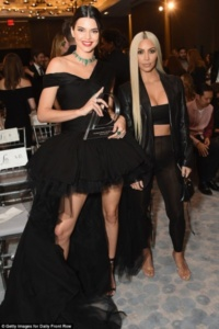 Kendall Jenner, Kim Kardashian