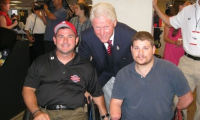 Billy Hannigan, President Bil Clinton, Nick Springer