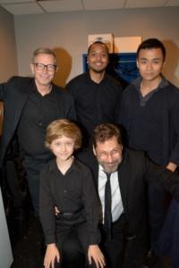 Arnie Burton, Brandon Jones, David Huynh, Finn Douglas, David Staller