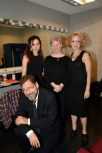 Talene Monahon, Lauren Yarger, Nancy Anderson, David Staller