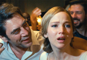 mother! Javier Bardem, Jennifer Lawrence