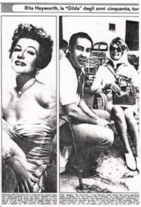 Budd Moss, Rita Hayworth