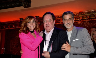 Andrea McArdle, James L. Nederlander, Bill Berloni
