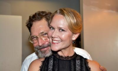 David Staller and Rebecca Luker