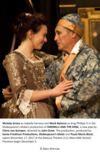 Melody Grove, Mark Rylance