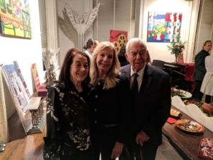 Caroline Moss, Princess Yasmin Aga Kahn, Budd Burton Moss