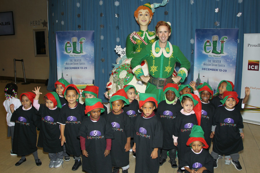 Elf The Musical Unveiled The biggest Rice Krispies Treat Sculpture ...