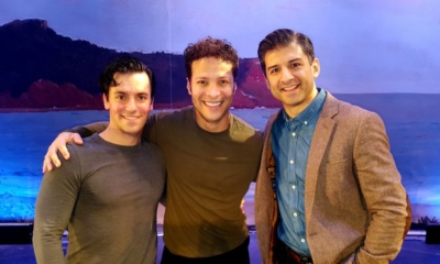 Tony Yazbeck, Clyde Alves,Justin Guarini