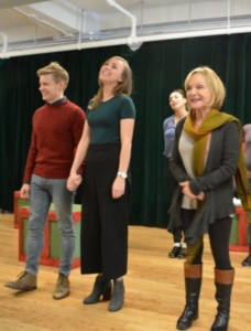 Andrew Keenan-Bolger, Samantha Hill, Cathy Rigby