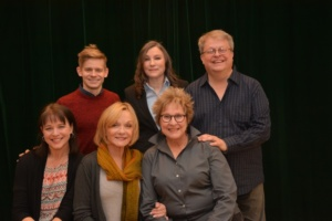 Andrew Keenan-Bolger, Maria Ciampi, Charles Eversole Kim Crosby, Cathy Rigby, Pamela Myers