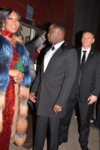 Naomi Campbell and P Diddy