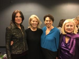 Sophia Romma, Daryl Roth, Linda Weiner, Pat Addiss