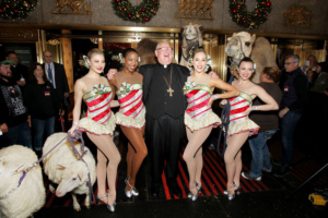 Timothy Cardinal Dolan, Christmas Spectacular,Living Nativity, Radio City Music Hall