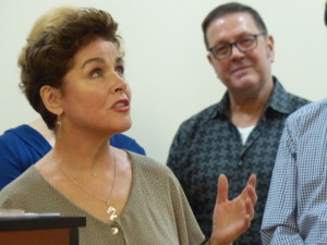 Christine Andreas, Kevin Weldon