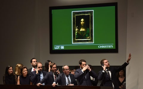 Da Vinci's Salvator Mundi sold for $450 million