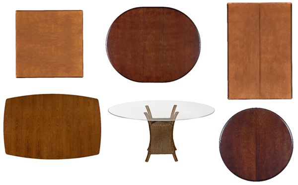 The Shape of Dining Tables Helps to Balance Aesthetics and Functionality