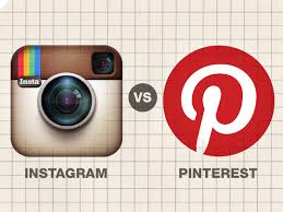 Instagram,Pinterest