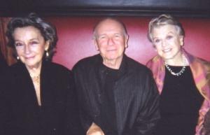 Zoe Caldwell, Terrence McNally, Angela Lansbury