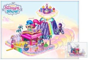 Shimmer and Shine, Nickelodeon