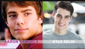 Jonathan Bennett, Kyle Selig.