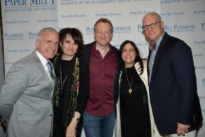 Mark S. Hoebee, Beth Leavel, Bob Martin, Dori Bernstein, Christopher Sieber