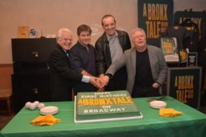 Jerry Zaks, Glenn Slater, Chazz Palminteri, Alan Menken