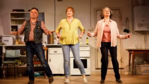 Francesca Annis, Deborah Findlay, Ron Cook