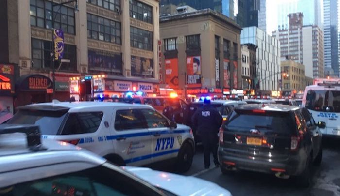 New York City Chaos: Explosion Reported Near Times Square