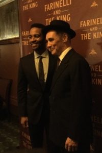 Andre Holland, Mark Rylance
