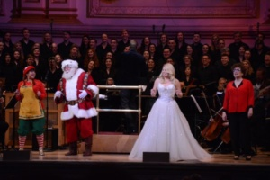 Elf, Santa, Megan Hilty, Judith Clurman