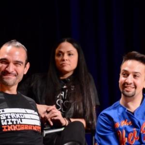 Lin-Manuel Miranda, Javier Muñoz, Karen Olivo
