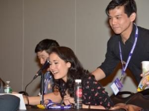 Raymond J. Lee, Ali Ewoldt, Telly Leung