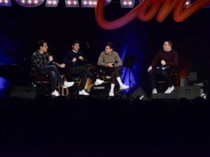 Dave Quinn, Taylor Trensch, Noah Galvin, Steven Levenson