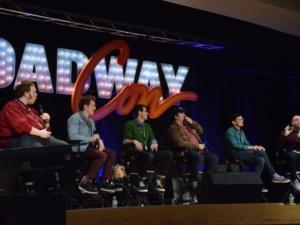 Danny Skinner, Ethan Slater, Gavin Lee, Brian Ray Norris, Wesley Taylor ,Dave Quinn