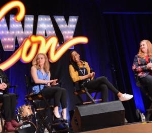 Lynn Ahrens, Christy Altomare, Hailey Kilgore