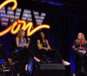 Lynn Ahrens, Christy Altomare, Hailey Kilgore, Julie James