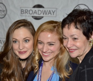 Laura Osnes, Christy Altomare, Lynn Ahrens