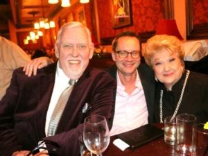 Jim Brochu, Michael Riedel, Marilyn Maye