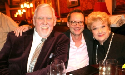 Jim Brochu, Michael Riedel, Marilyn Maye