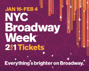 Broadway two for one Tickets