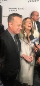 Tom Hanks and Rita Wilson