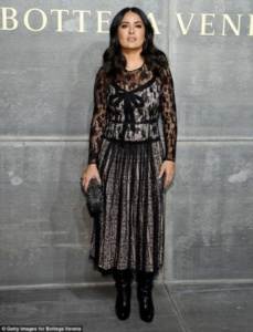 Salma Hayek, Bottega Veneta