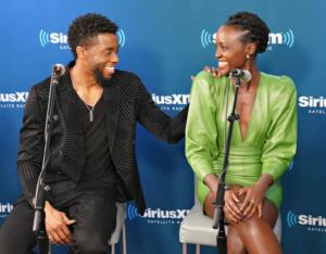 Chadwick Boseman ,Lupita Nyong'o