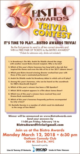 Bistro Awards
