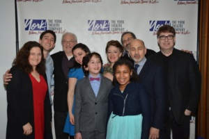Annette Jolles and Darren R. Cohen with the cast- Ben Fankhauser, Tim Jerome, Julie Benko, Peyton Lusk, Lori Wilner, Neal Benari,Ned Eisenberg